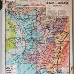 Carte Géographique - Nord Est