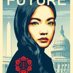 Shepard Fairey Amanda Nguyen WeTheFuture