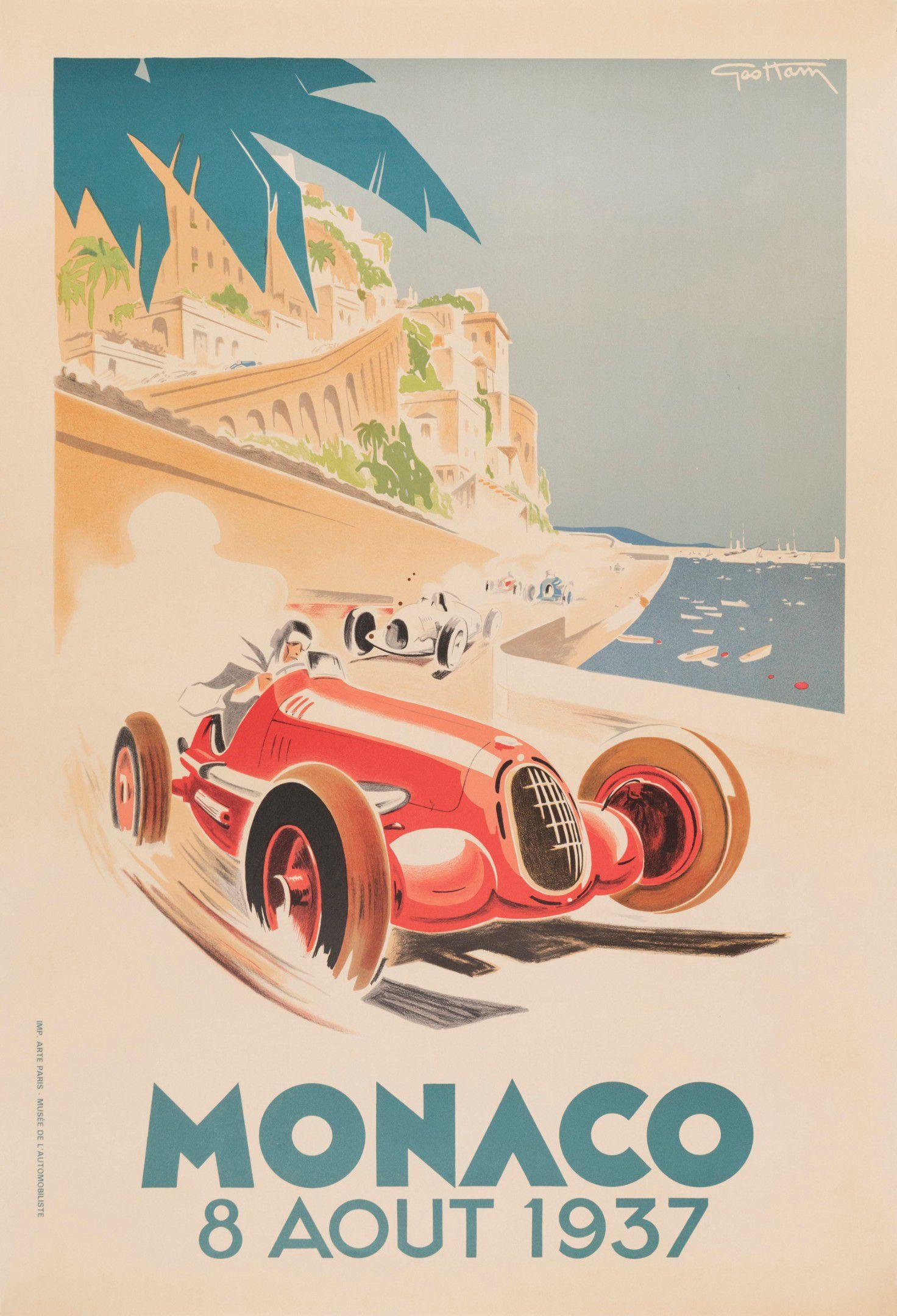 Monaco 8 Août 1937