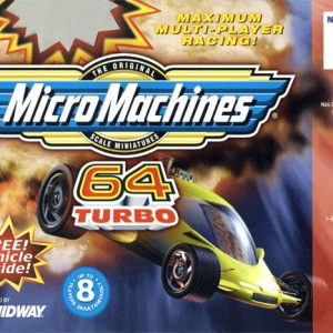 MicroMachines 64 Turbo