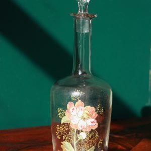 Carafe à liqueur - Décor Floral